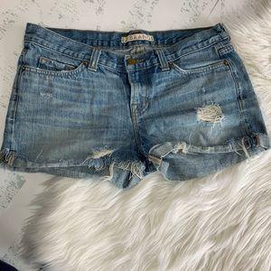 J Brand | Distressed Cut off Denim Shorts size 28
